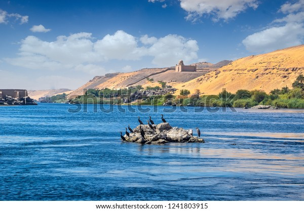 Nile Longest River World Flows All Stock Photo (Edit Now