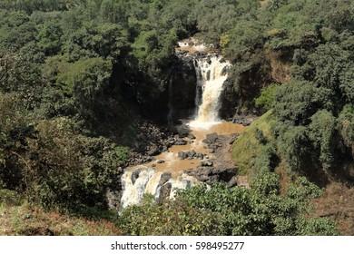 The Nile waterfall Tisissat in Ethiopia