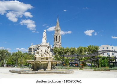 Nimes, Esplanade Charles-de-Gaulle