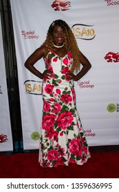 Nimi Adokiye arrives at the 10th Annual Indie Series Awards at The Colony Theatre in Burbank, CA on April 3, 2019.