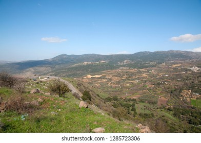 Nimrod Fortress, the Golan Heights