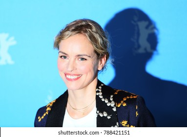 Nina Hoss attends the 'Return to Montauk'  photo call during the 67th Berlinale Film Festival Berlin at Grand Hyatt Hotel on February 15, 2017 in Berlin, Germany.