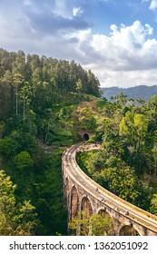 The Nine Arches Demodara Bridge or the Bridge in the sky is one of the iconic bridges in Sri Lanka. Nine Arches Bridge is located in Demodara near Ella city