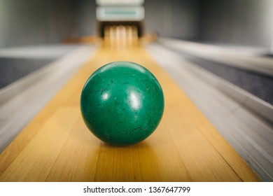 Nine-Pin Bowling is a typical German Version of Bowling, better known as Kegeln. Main differences are the balls itself, as they don´t have holes, and obviously there are just nine pins instead of ten.