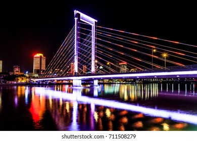 Ningbo beautiful city night view