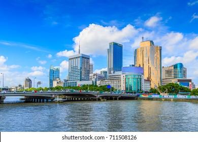 Ningbo city scenery