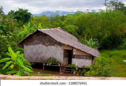 Nipa Hut Native to Palawan Philippines