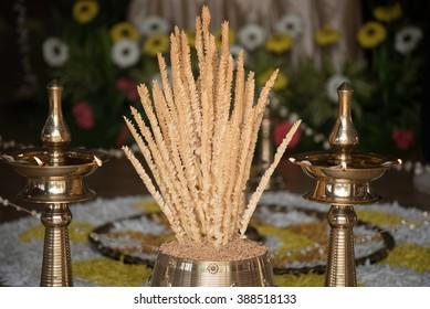 Nirapara at Malayalee wedding ceremony in Malaysia