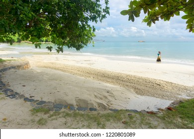 "Nirwana Gardens Resort, Lagoi, Bintan Island, Indonesia, November 2018: ""Tropical Beach at Bintan Island"""