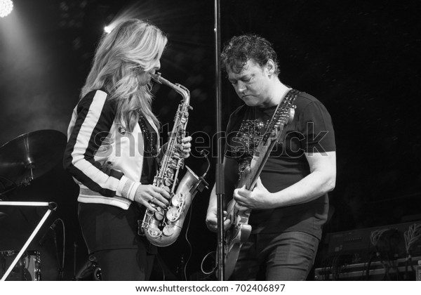 Nis Serbiaaugust 13 2017 Candy Dulfer Stock Photo (Edit Now) 702406897