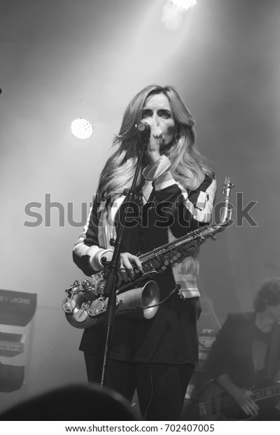 Nis Serbiaaugust 13 2017 Candy Dulfer Stock Photo (Edit Now) 702407005
