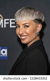 """Nisha Espy attends 19th Annual Horror Film Festival – ScreamFest - Opening Night """"Eat, Brains, Love"""" Los Angeles Premiere at TLC Chinese Theatre, Hollywood, CA on October 8, 2019"""