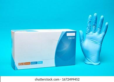 Nitrile or latex gloves. Medical gloves