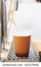 Nitro cold brew coffee,takeaway .