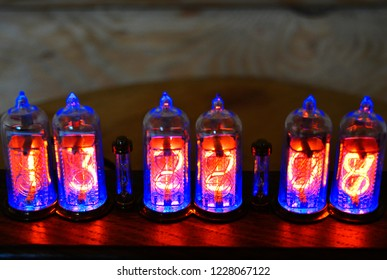 Nixie Clock Images, Stock Photos & Vectors   Shutterstock
