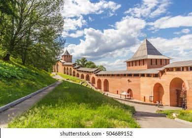Nizhny Novgorod. Walking through the Nizhny Novgorod Kremlin