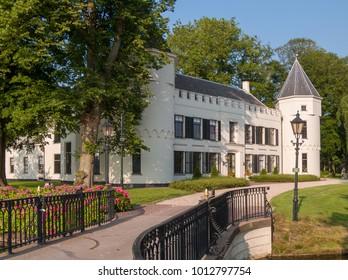 NLD, GELDERLAND - JUL 14, 2005 - White Castle near the city of Nijkerk