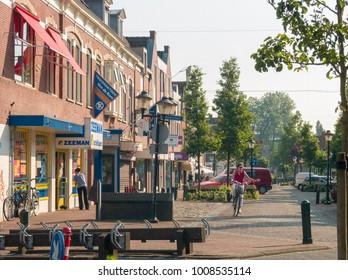 NLD, NIJKERK - JUN 24, 2005 - Village center of the village of Nijkerk