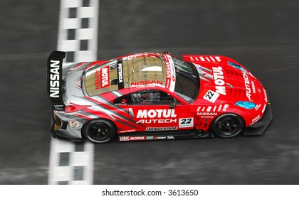 No 22 of NISMO MOTUL AUTECH Z, Michael Krumm & Tsugio Matsuda in action during Super GT 2007 in Sepang
