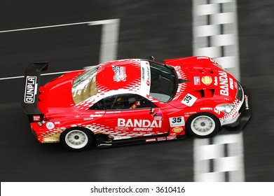 No 35 of TOYOTA TEAM KRAFT BANDAI DUNLOP SC430, Naoki Hattori & Peter Dumbreck in action during Super GT 2007 Championship in Sepang
