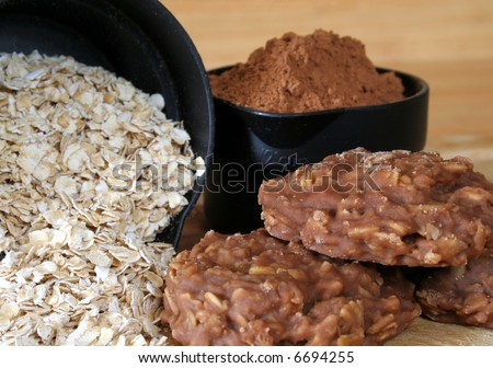 No Bake Cookies Other Wise Known Stock Photo (Edit Now