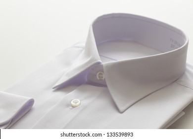 no brand white shirt for school uniform image with copy space