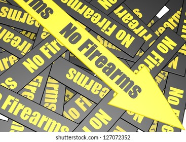 No firearms banner
