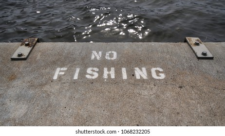 No Fishing Pier