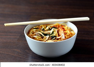 No Frills Penang Hokkian Prawn Mee Soup, A Local Hawker Dish Popular in Singapore and Malaysia Especially in Penang State