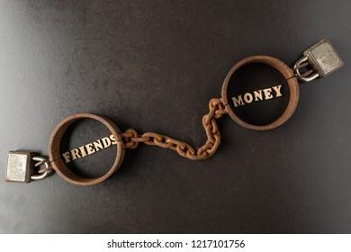 No money no friends