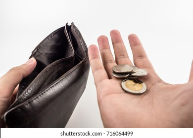 NO money. If you do not manage cash flow in wallet.You may face poor situation. Financial planning and saving is answer. In addition you should to reduce something that 's not necessary your day life.