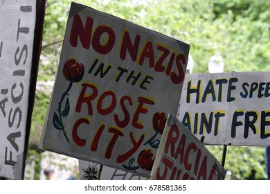 No Nazis in the Rose City
