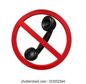 No Phone Sign