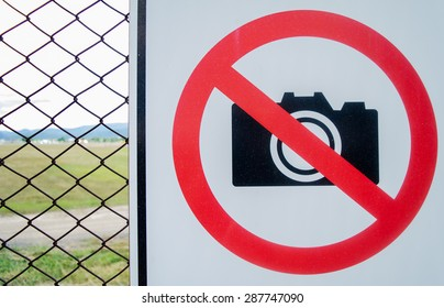No photography in airport.No photography.