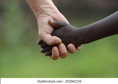 Holding Hands Black and White Images, Stock Photos & Vectors