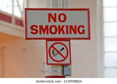 No Smoking Sign and Symbol