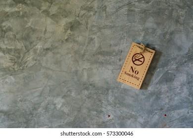 No smoking tag