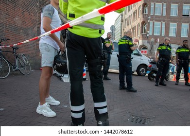 No Trespassing Police Control Scooter Speed Limit At Amsterdam The Netherlands 2019