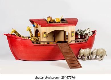 Noah Ark Isolated.