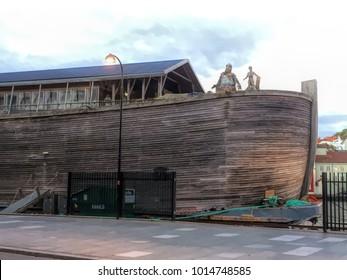 Noah's ark built upon historical fantasy