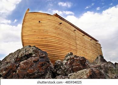 Noah's Ark on Ararat Mountain