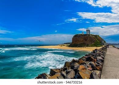 Nobby Beach in Newcastle NSW Australia.