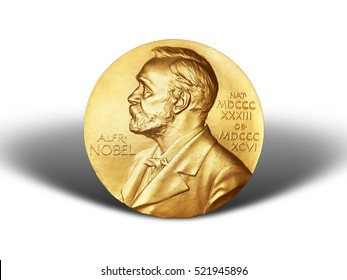 Nobel Prize. The award of the year. Prize Alfred Nobel. humanity award