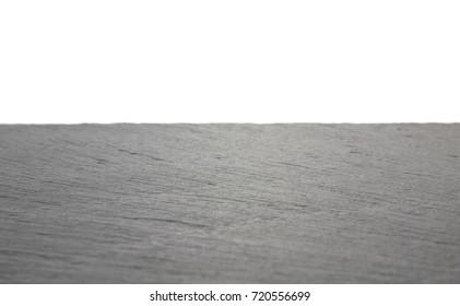 Noble slate floor White background with slate floor.