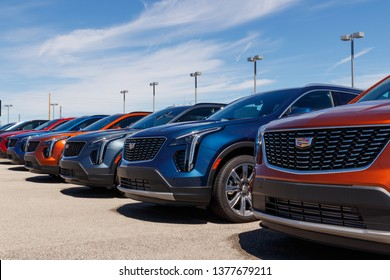 Noblesville - Circa April 2019: Cadillac Automobile Dealership. Cadillac is the Luxury Division of General Motors II