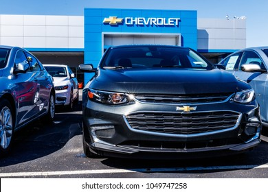 Noblesville - Circa March 2018: Chevrolet Automobile Dealership. Chevy is a Division of General Motors XIV
