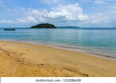 Nobody in Otres Beach, on the coast near Sihanoukville, Cambodia