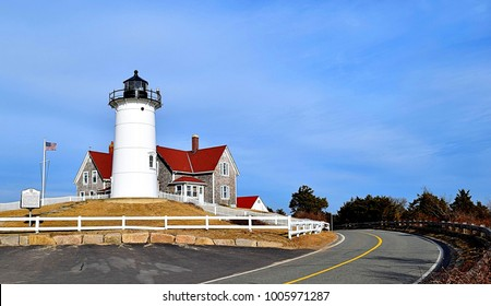 Nobska Point Lighthouse Woods Hole Cape Cod Massachusetts