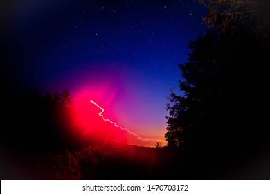 Noc na Cylu Hali Śmietanowej - Beskidy - Shutterstock ID 1470703172