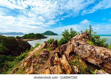 Noen Nangphaya Viewpoint, the famous and beautiful viewpoint at Chanthaburi, Thailand